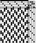 Medieval Textiles - Die Textilfunde aus den Gräbern, Birka: Untersuchungen und Studien III by Agnes Geijer  W-39 wool fabric, after image on page 37 (fig. 11)