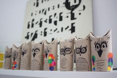 Owls (more toilet paper rolls, gotta get a move on ;))