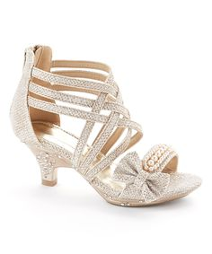 66f248d33b91f Look at this Gold Roxie Sandal on  zulily today! Soulier