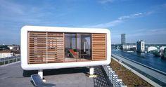 The LoftCube is a cheap & cheerful rooftop prefab