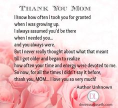 I Love You Nanay Quotes : ... Pinterest Happy mothers day, I love you mom and Happy birthday mom