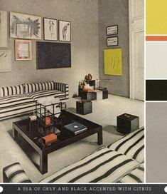 Milan Apartment By Carla Venosta, 1968