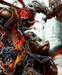 Darksiders : GameFly a listé le jeu sur Xbox One et Wii U - theGeek. Ps4, Playstation, Wii U, Xbox One, Retro, Video Games, Gaming, Ps3, Videogames