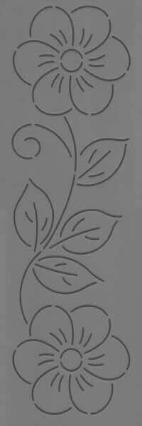Paulines Patchwork Ltd Stencil 68 Applique Patterns, Applique Designs, Flower Patterns, Beading Patterns, Quilt Patterns, Embroidery Designs, Quilting Stencils, Quilting Templates, Quilting Designs