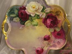 """""""Absolutely Breathtaking Masterpiece"""" Antique Limoges French Rare from oldbeginningsantiques on Ruby Lane"""