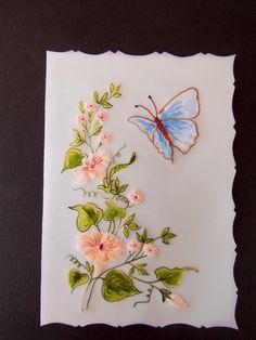 Gilar den med blommor o fjäril,gjort av Cornelia