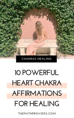 Affirmations are a powerful way of healing your chakras. Discover these 10 powerful Heart Chakra Affirmations and start using them daily ! Energy Healing Spirituality, Chakra Healing Meditation, Heart Chakra Healing, Meditation For Anxiety, Meditation For Beginners, Guided Meditation, Healing Crystals, 7 Chakras Meaning, Healing Affirmations