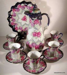 TEA SET, PRETTY