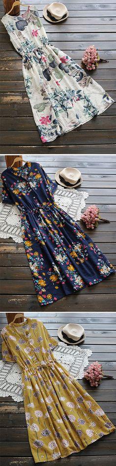 Summer dresses:Maxi