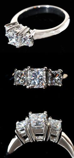 Princess Past Present & Future Ring