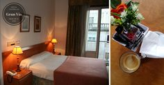 Habitaciones amplias, desayuno completo, wifi en todas las instalaciones.... Hostal Gran Vía, ubicado en el centro de Vigo al lado de El Corte Inglés