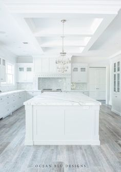 Kitchen Cabinet Color with Grey Flooring . Kitchen Cabinet Color with Grey Flooring . This Farmhouse Modern Kitchen Features Shaker Cabinets In Home, New Kitchen Designs, White Kitchen Design, House, Kitchen Interior, Interior Design Kitchen, Gray And White Kitchen, Wood Floor Kitchen, Grey Wood Tile