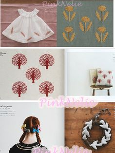 Higuchi Yumiko Small Goods and 1 Color Embroideries by PinkNelie