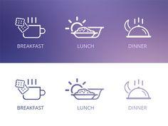 Restaurant Icons by Rohit Kumar