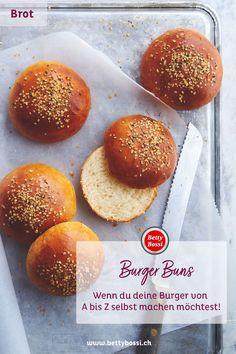 Liebst du Burger essen auch so sehr? Dann versuch doch mal die Burger Buns selbst herzustellen, denn das ist next level! Versuch, Next, Tricks, Breads, Recipes, Food, Perfect Hamburger, Hamburger Buns, Barbecue Recipes