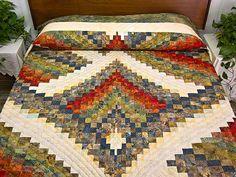 bargello quilt | Strikes Bargello Quilt -- splendid specially made Amish Quilts ...