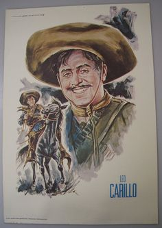 LEO CARRILLO Pancho Of Cisco Kid Western By MelodiesAndMemories Facebook