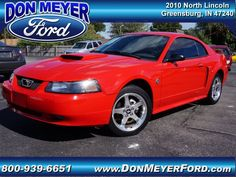2004 Ford Mustang, 86,347 miles, $9,988.
