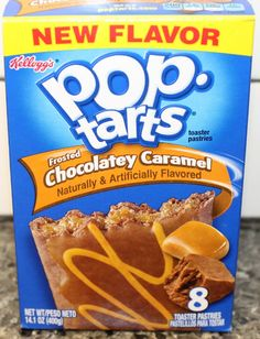 Chocolatey Caramel Pop Tarts Review