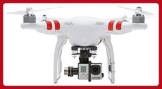 DJI Phantom 2 Quadcopter V2.0 Bundle with 3-Axis Zenmuse H3-3D Gimbal for GoPro - Fun stuff and gift ideas (*Amazon Partner-Link)