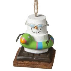 S'mores Swimmer Ornament- Perfect for my little fish!! Evan's 2012 ornament!