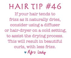 Frizzy Hair Tip