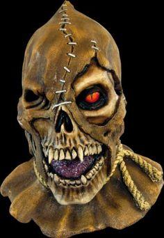 Skullcrow Halloween Latex Mask
