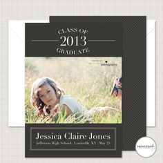 Graduation Announcement from Printed Ink
