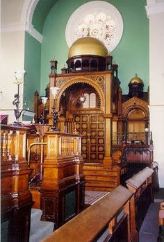 The Spanish and Portuguese synagogue in Maida Vale, London.