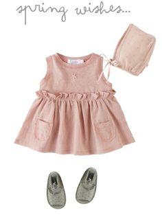 Tocoto Vintage ropa y accesorios para bebés > Minimoda. Little Fashion, Baby Girl Fashion, Toddler Fashion, Kids Fashion, Vintage Baby Clothes, Cute Baby Clothes, Outfits Niños, Kids Outfits, Tocoto Vintage