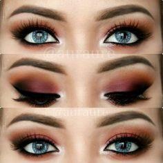 Eye Makeup Tips – How To Apply Eyeliner – Makeup Design Ideas Gorgeous Makeup, Pretty Makeup, Love Makeup, Makeup Inspo, Makeup Inspiration, Makeup Ideas, Makeup Tutorials, Eyeshadow For Blue Eyes, Blue Eye Makeup