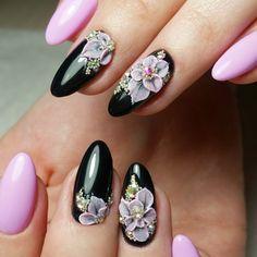 """100 модных новинок: Маникюр и дизайн ногтей """"Весна 2018"""" на фото"""