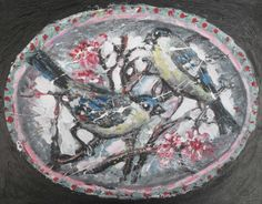 Birds and Blossom by Alex Arnell