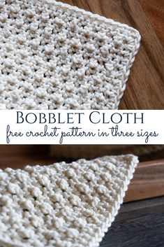 Are you ready for the third cloth in our year-long series? The Bobblet Cloth is the cloth of the month, and I just know you'll love it! Crochet Kitchen, Crochet Home, Crochet Gifts, Free Crochet, Crochet Potholders, Crochet Dish Towels, Knitted Dishcloths, Tunisian Crochet, Crochet Blanket Patterns