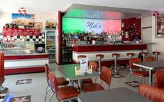 Mel's Bar in Basel Basel, Bar Cart, Restaurant, Furniture, Home Decor, Italian Kitchens, Viajes, Decoration Home, Room Decor