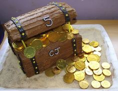 Treasure Chest Cake                                                                                                                                                                                 More