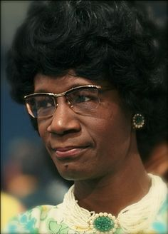 Shirley Chisholm, the first Black woman elected to Congress, opened her historic campaign for President-- January 25, 1972.