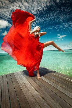 Red and turquoise... Luis Monteiro