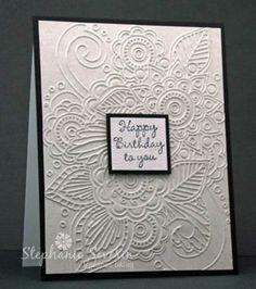 "Henna Embossing Folder by Darice 4 1 4"" x 5 3 4""   eBay NEXT"