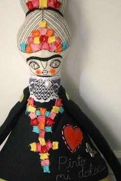 Frida dolls by cara carmina