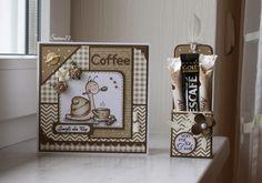 Steffi´s Stempelkeller : Mhmmm.....ein Milchkaffee und was Süßes!