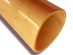 Woodslide Didgeridoo - (Detailansicht / Bell-end) Ahorn
