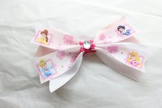 Large Disney Princesses Hair Bow by BabyGeneration, $3.50
