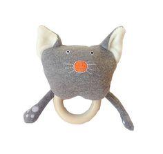 Sonaglio con anello dentizione: gattino