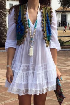 Boho Fashion - Boho Dress and Accessories Cute Dresses, Casual Dresses, Casual Outfits, Summer Dresses, Chic Dress, Boho Dress, Dress Skirt, Women's Summer Fashion, Boho Fashion