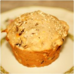chai seed muffin