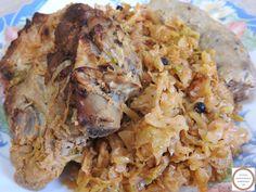 Retete mancare de varza murata la cuptor cu carne si carnati de porc reteta de casa traditionala