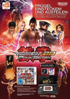 Advert . Tekken 3D Prime Edition . Nintendo 3DS