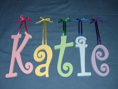 name letters