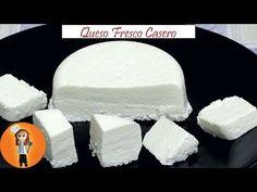 Queso Fresco Casero | Receta de Cocina en Familia - YouTube Homemade Mayonnaise, Homemade Ice Cream, How To Make Homemade, Yogurt, Ricotta, Mexican Food Recipes, Tapas, Dairy, Appetizers